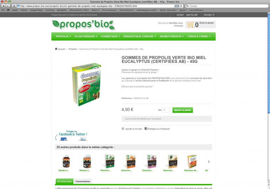 Propos-bio.com, la santé au naturel