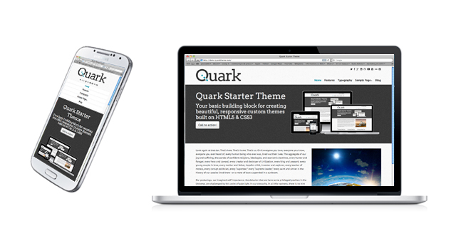theme wordpress quark