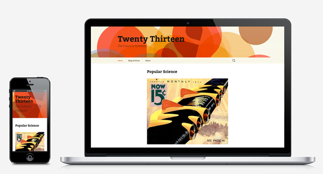 theme wordpress 2013
